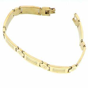 Bracelet Acier doré 22cm
