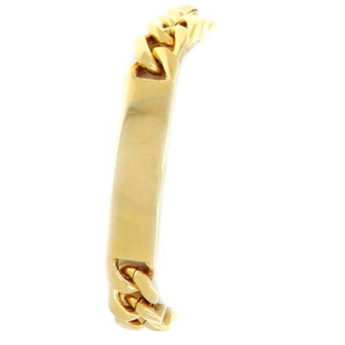 Bracelet Identité Gourmette 12.5mm 24cm 2
