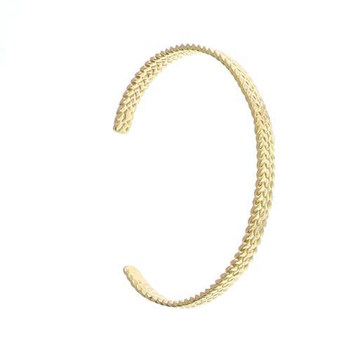 Bracelet Plaqué Or Jonc ouvert Fantaisie