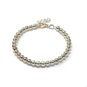 Bracelet grain argent5MM 21CM-2-min