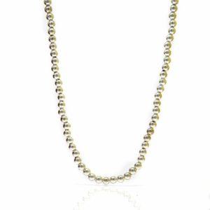 Collier grain argent (MM 45+3CM-5-min