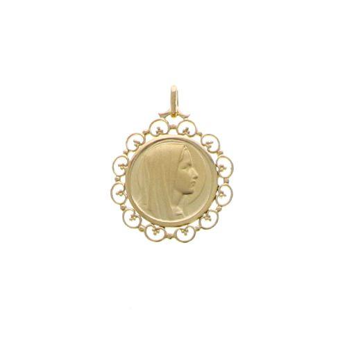 Médaille Vierge Dentelle