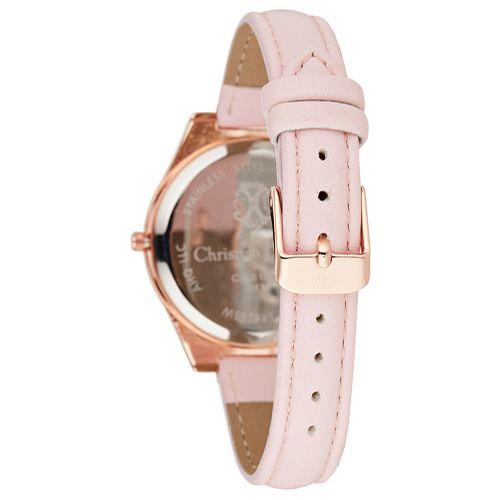 Montre Acier Dorée Christian Lacroix Bracelet Rose CXLS18044 2
