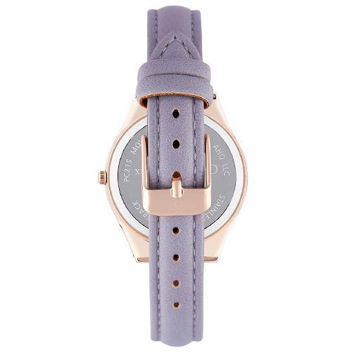 Montre Femme Acier doré Christian Lacroix Bracelet MauveCXLS18044-RGG