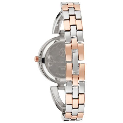 Montre Femme Acier doré Christian Lacroix Rose Bracelet Fond Oz CXLS18061 2