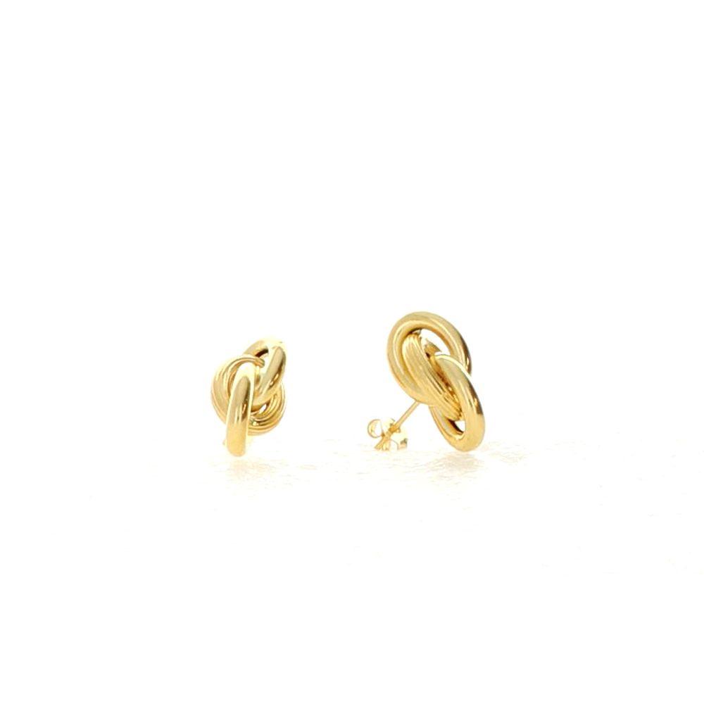 Boucles d'oreilles 18k Boucles Forcat 10mm 1