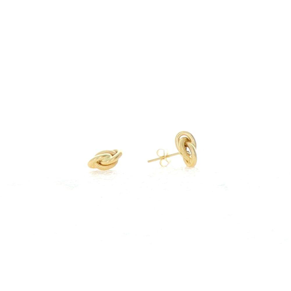 Boucles d'oreilles 18k Boucles Forçat 6mm 1