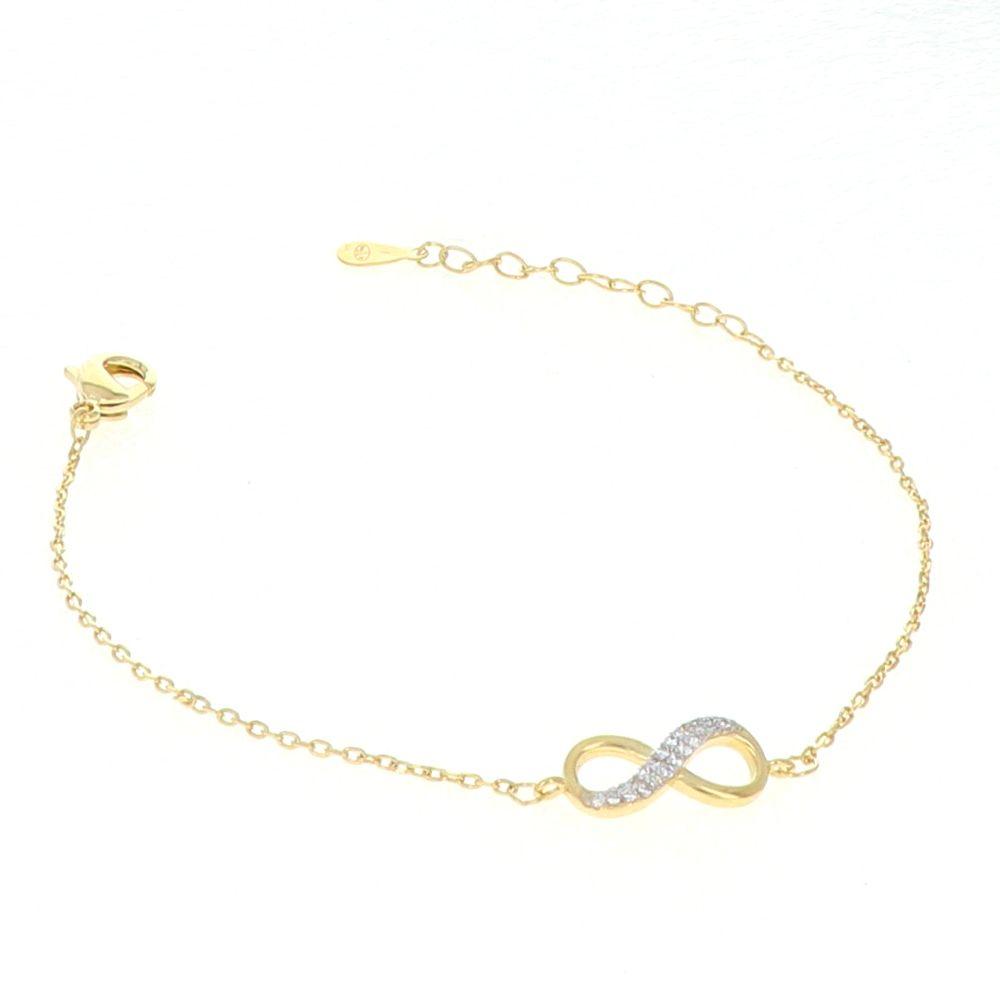 Bracelet Plaqué Or Infini Oz