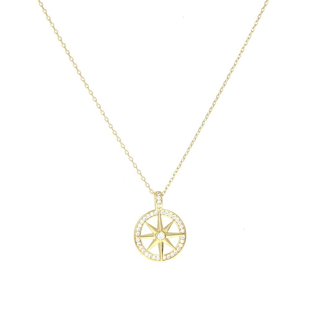 Collier cercle étoile Oz