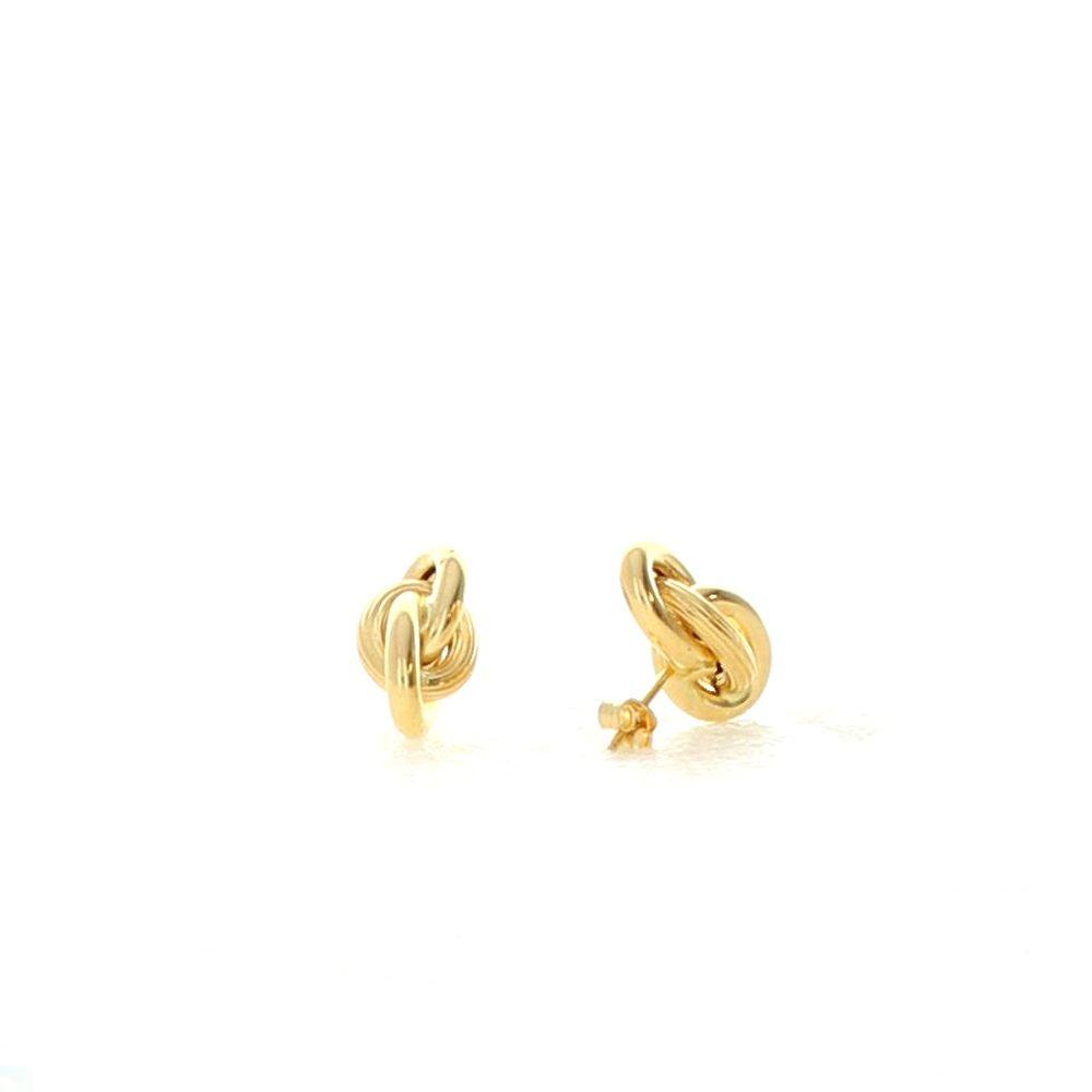 Boucles d'oreilles 18k Boucles Forcat 9mm 4