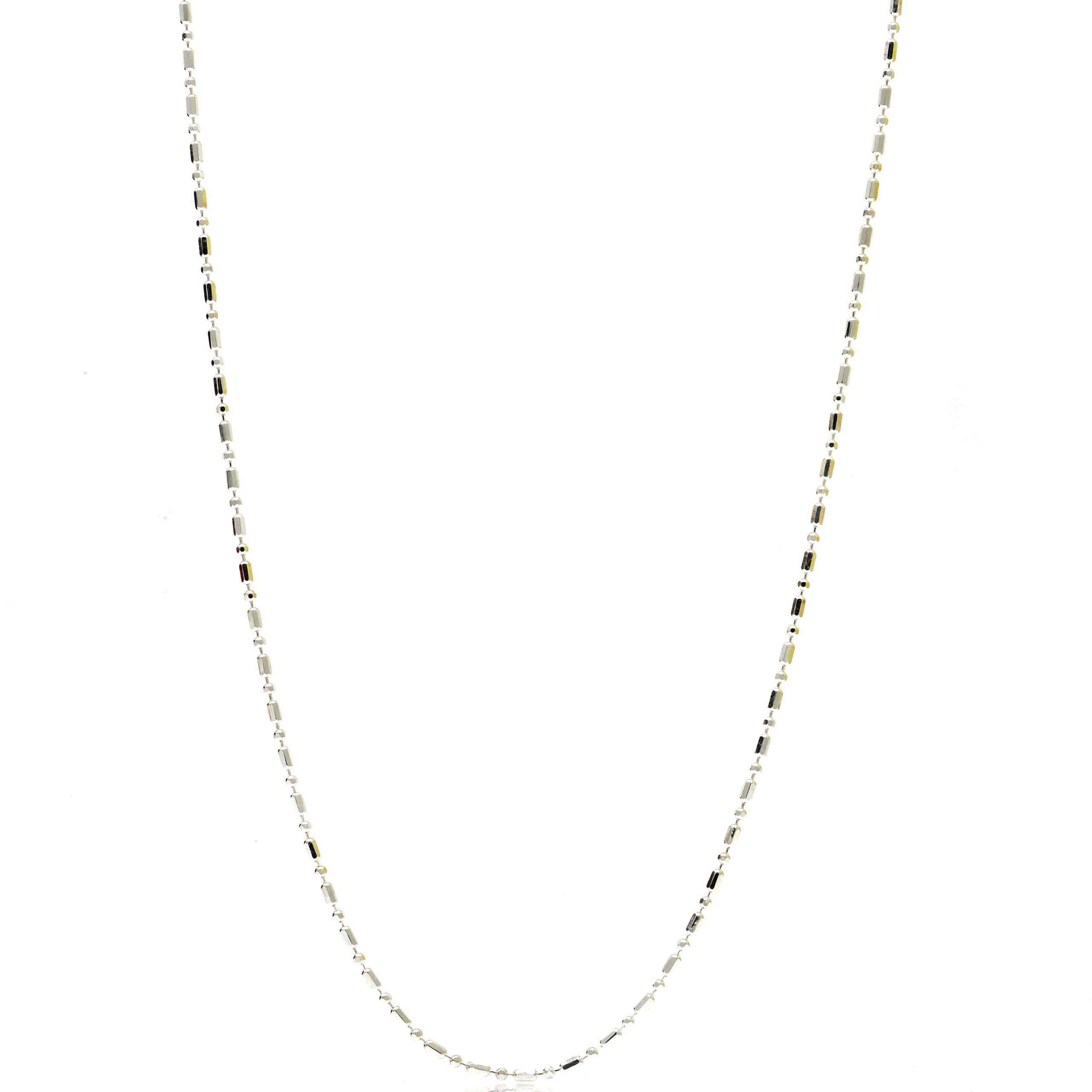 Chaine fine fantaisie 1.1 MM 45 CM-min