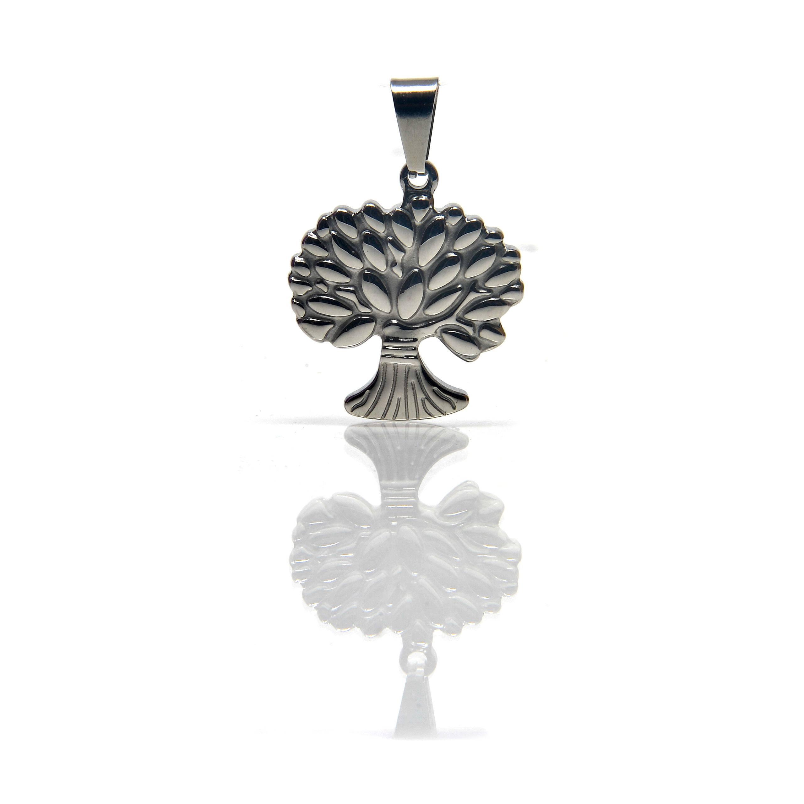 pendentif arbre de vie acier-3