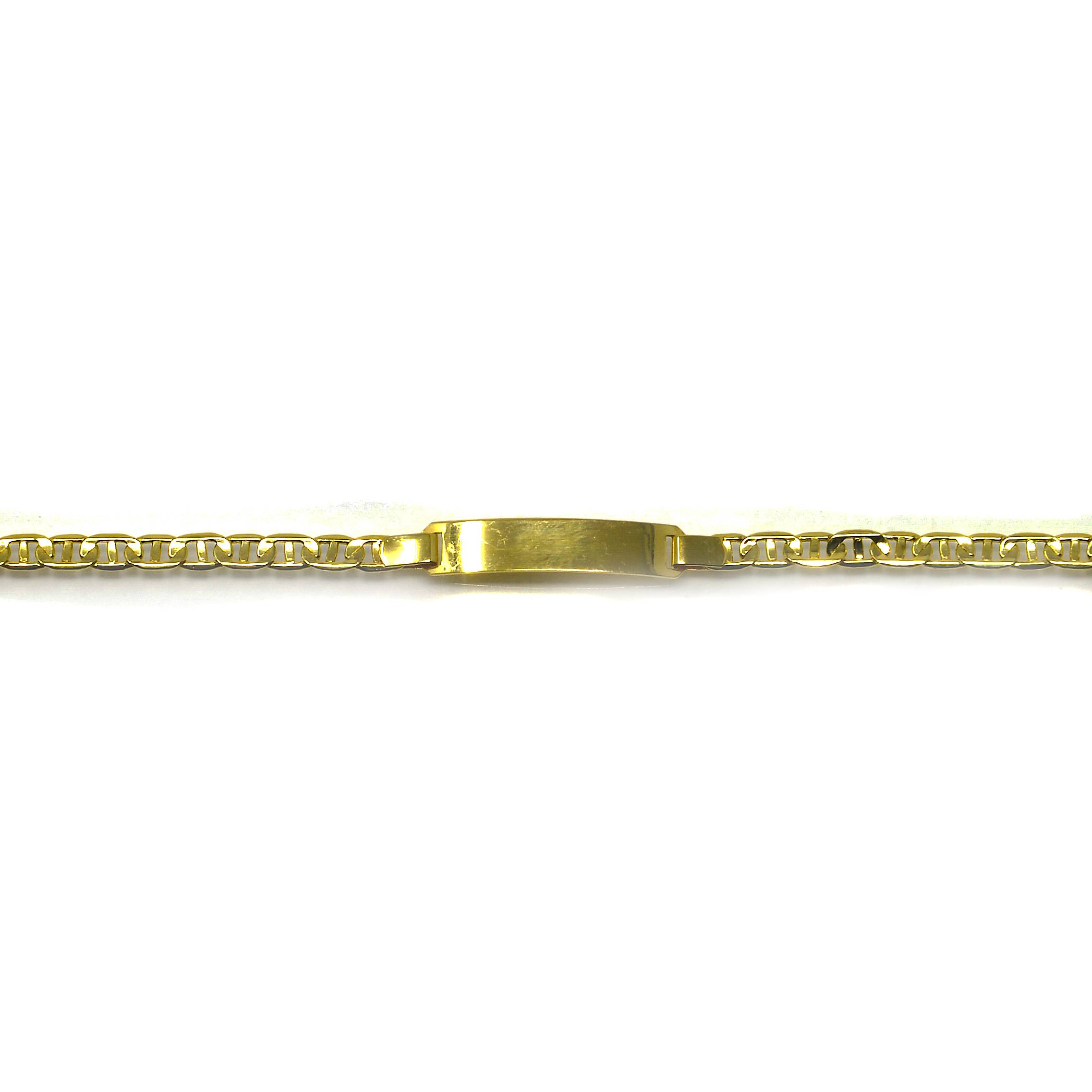 Bracelet identité marine Or 18 carats 4